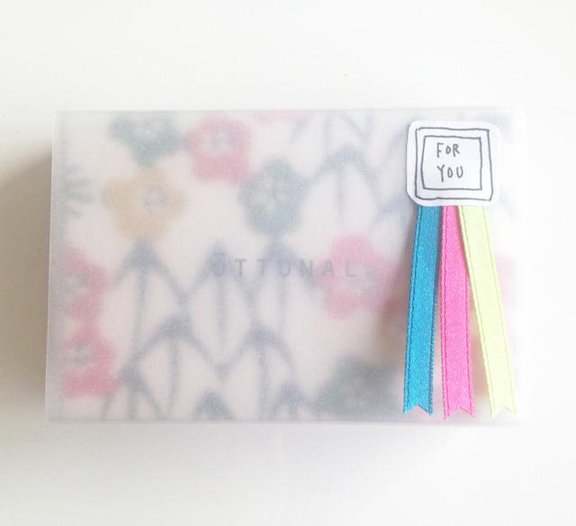 ●Option● アイシャドウラッピング2【サテンリボン】Gift Rapping 2 (satin ribbon) for eye shadow - 画像4