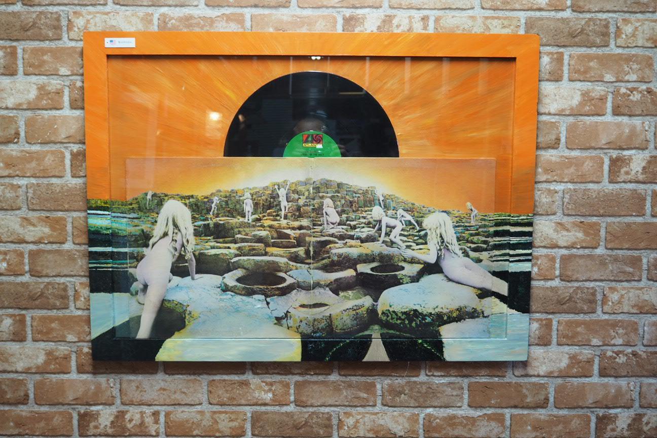品番0405 レコードアート レッドツェッペリン Ⅱ