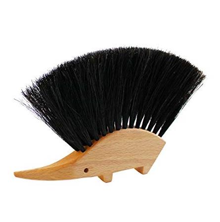 REDECKER ハリネズミのテーブルブラシ 馬毛
