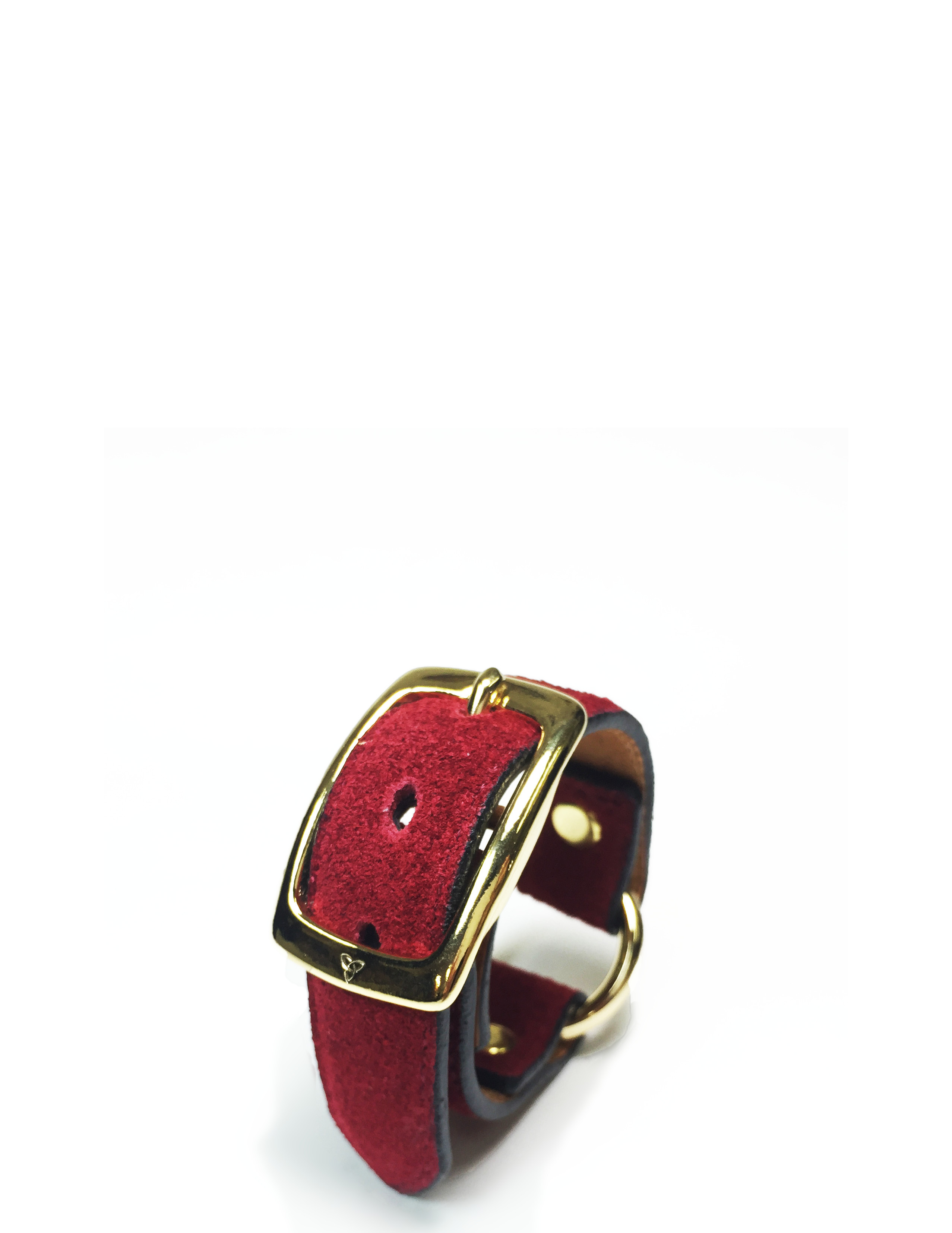 nahezugleich / Suede Ring bracelet - 画像5