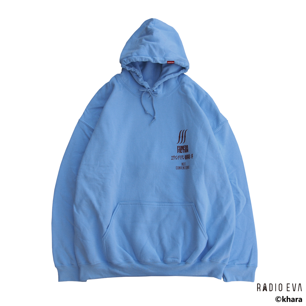 Ayanami (Why don't you just try smiling?) PULL PARKA (LIGHT BLUE) /  RADIO EVA