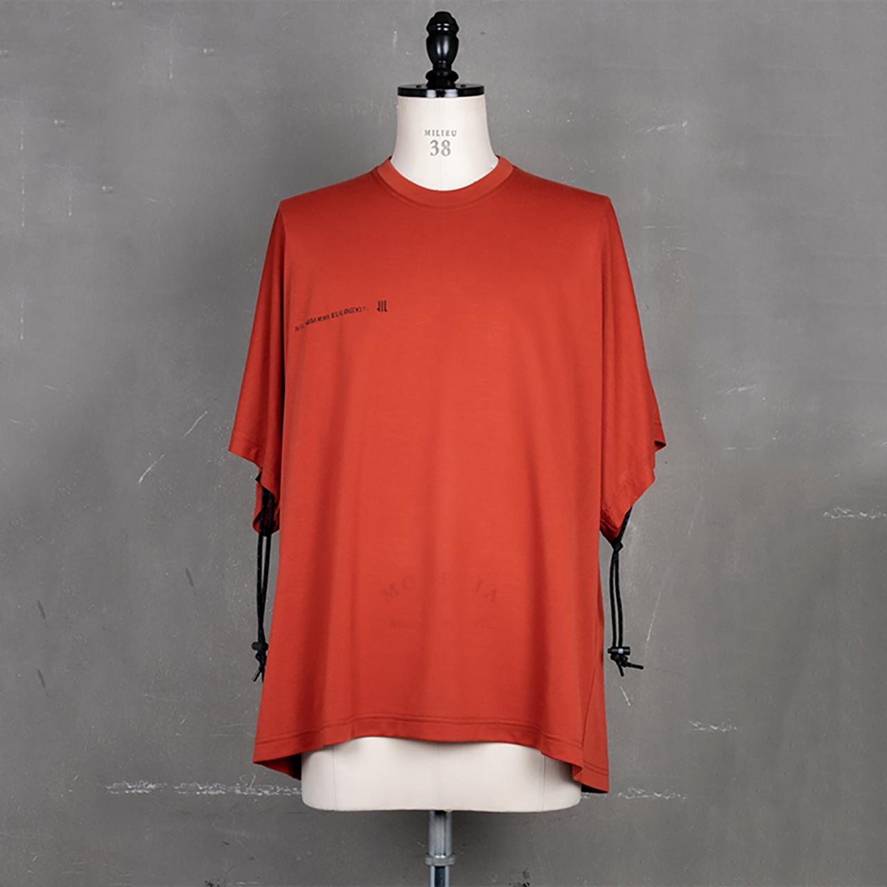 [ 2021 春夏 予約商品 ] 740CUM2-RED / コード カイトTシャツ / 12月入荷予定