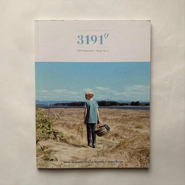 3191quarterly NO.5  /  Maria Alexandra Vettese   /  Stephanie Congdon Barnes