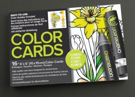 Chameleon Pen Flowers Color Cards (カメレオンペン フラワー カラーカード)