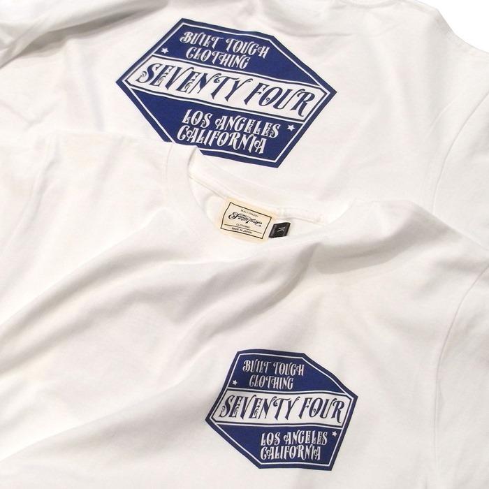 SEVENTY FOUR(セブンティーフォー) /  BUILT TOUGH LOGO T-SHRIT(STF19SS22)(Tシャツ)