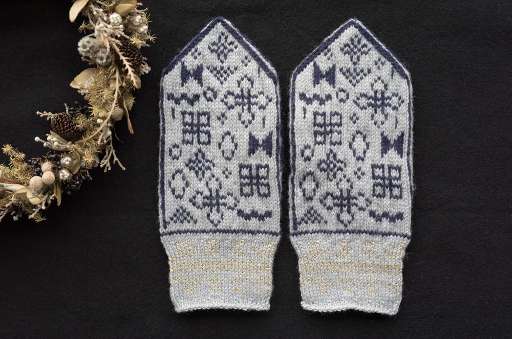 sunao knitting ミトン 大人用 【 accessories 】