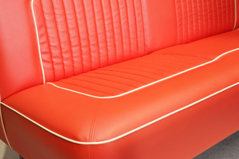 BENCH SEAT SOFA ベンチシートソファ RED