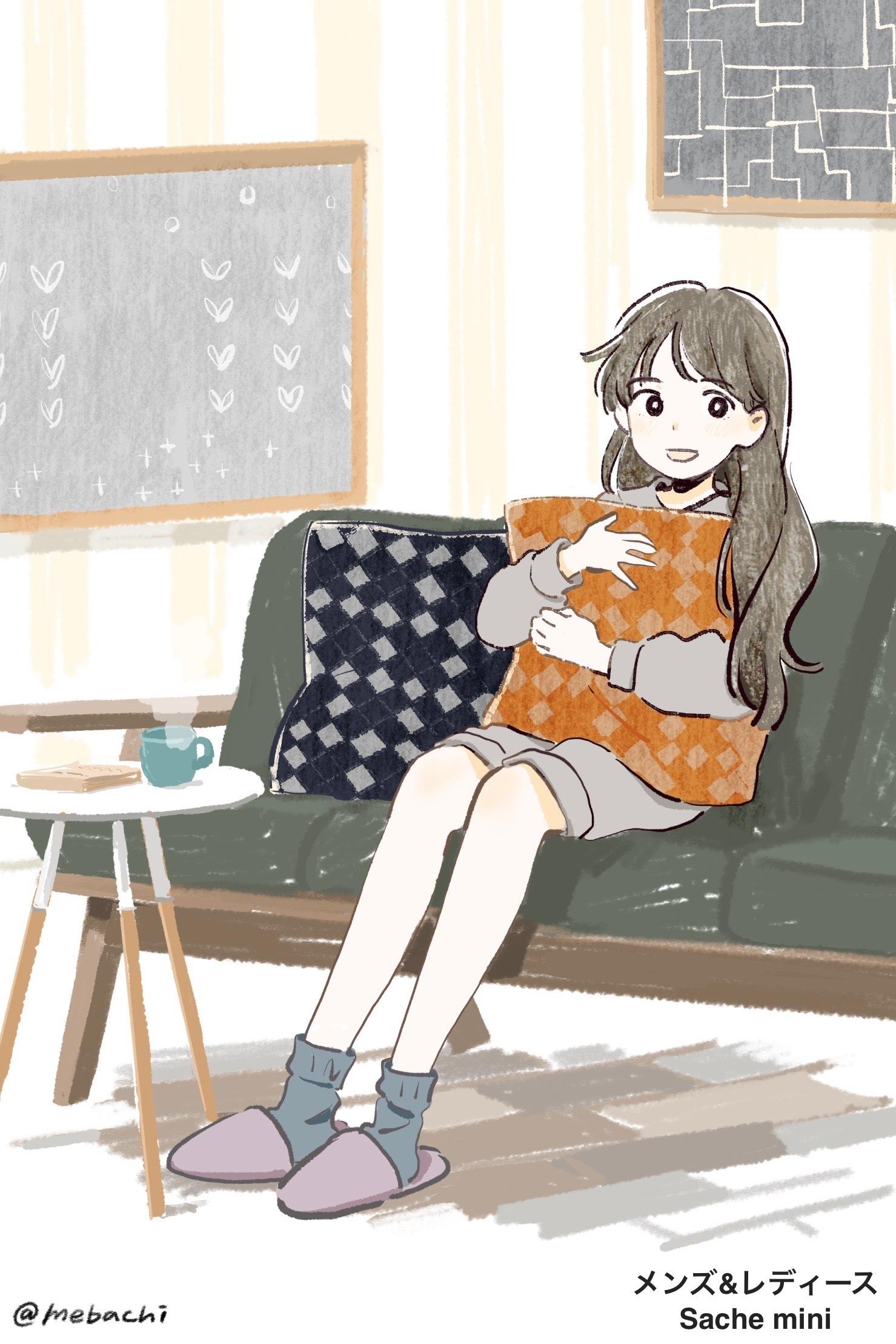 人気ブランドの別注アイテム♪ テキスタイルクッション/rikolekt