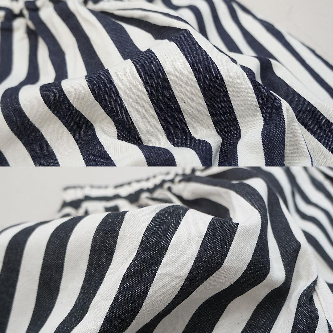have a good day ハブアグッドデイ Stripe Volume pants ストライプボリュームパンツ (品番hgd-090s)