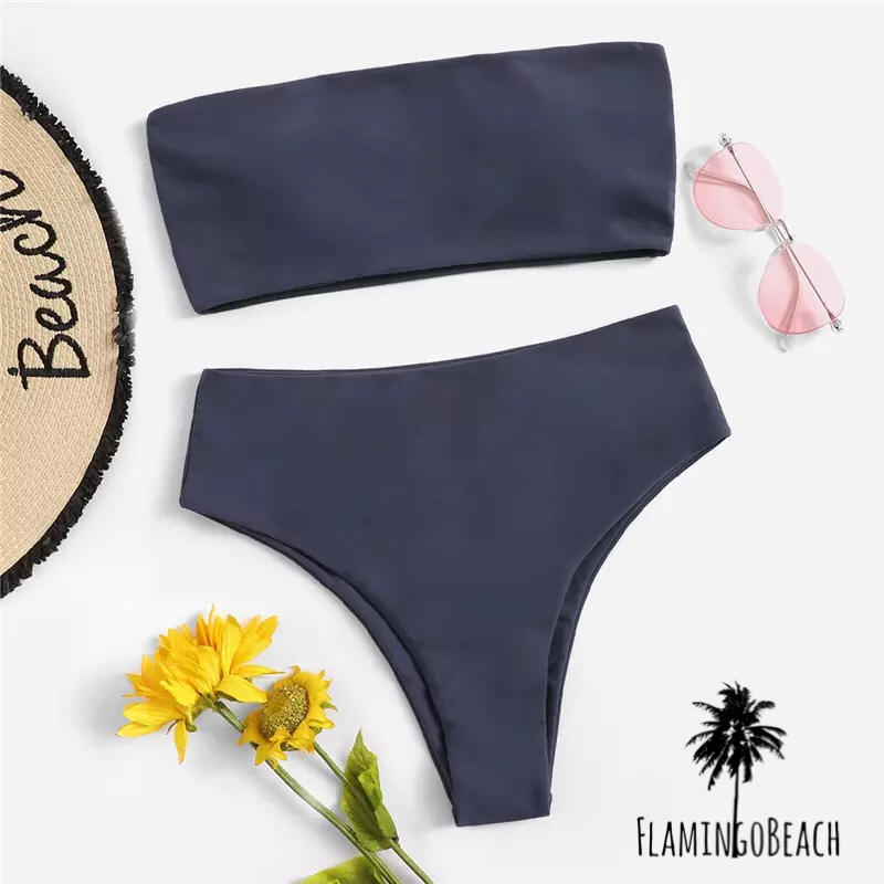 【FlamingoBeach】simple high west bikini ビキニ