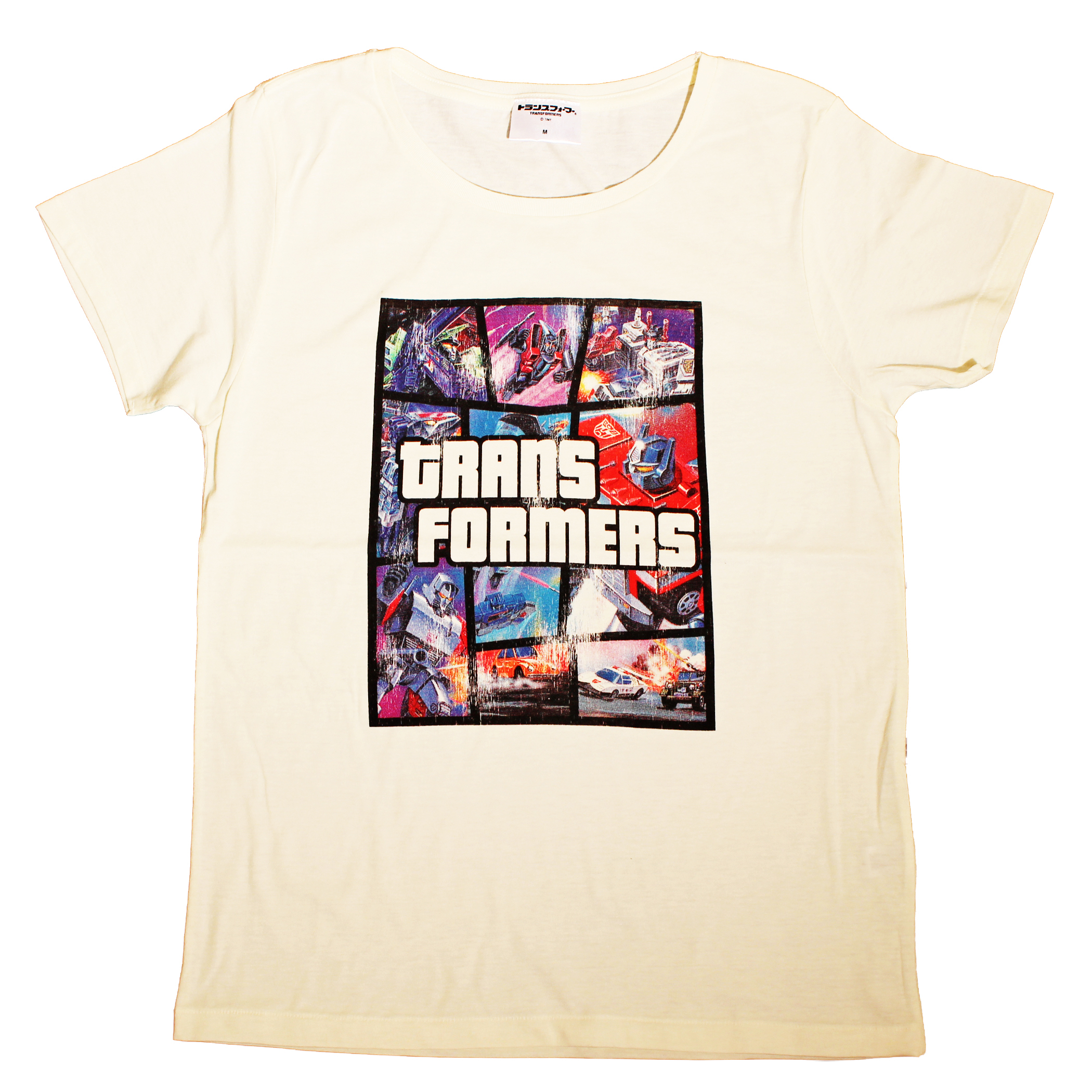 【トランスフォーマー】戦え!超ロボット生命体トランスフォーマー|オリジナルアート Tシャツ