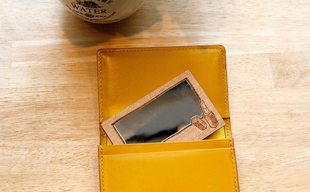 mirror / カード型手鏡(こっそりシリーズ)のイメージ画像