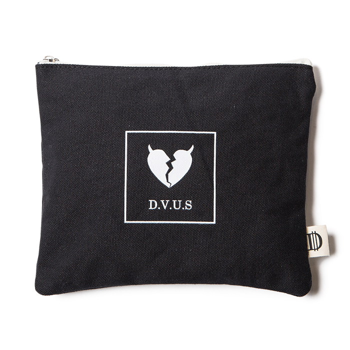 【Deviluse | デビルユース】Heartaches Pouch(Black)
