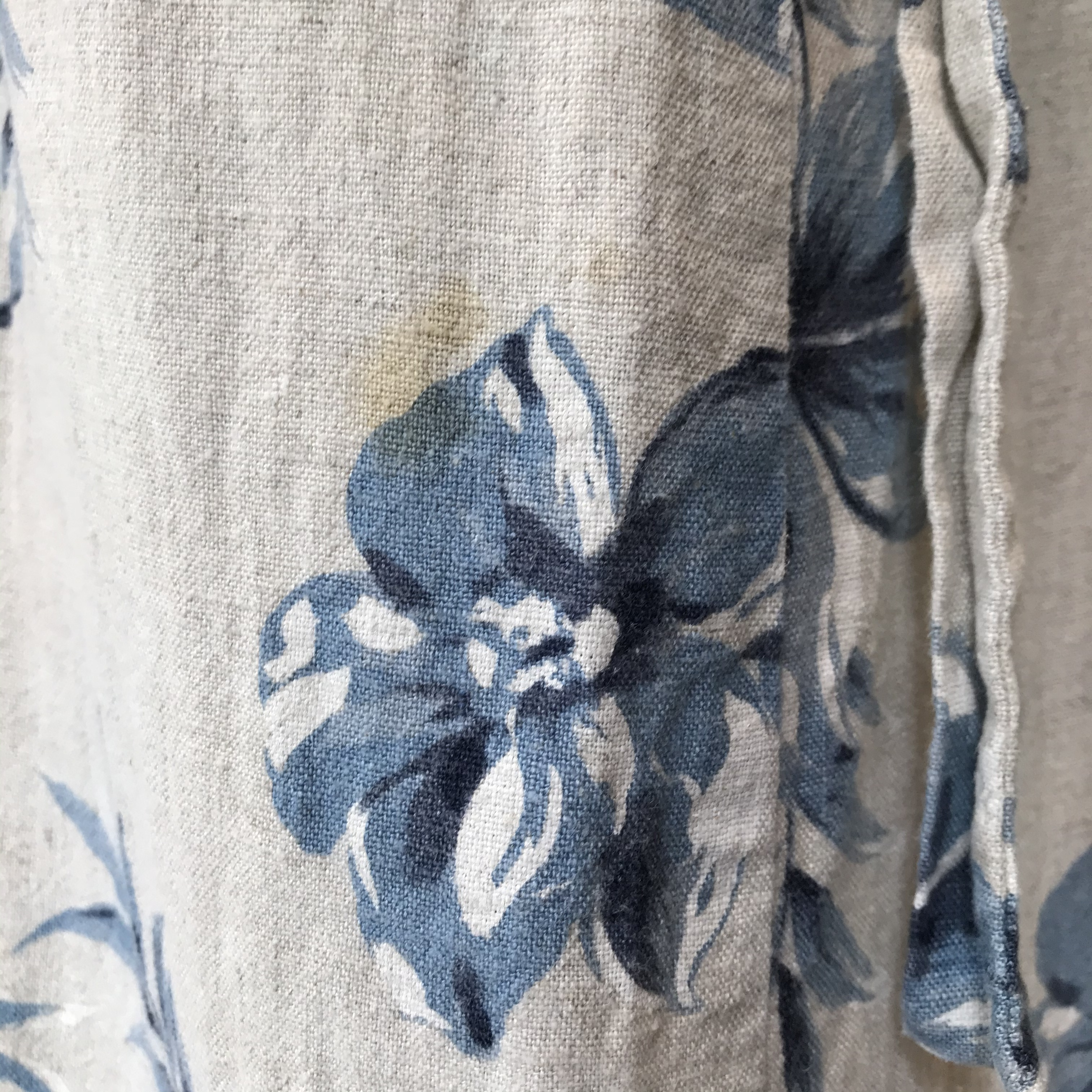 vintage linen × rayon onepiece