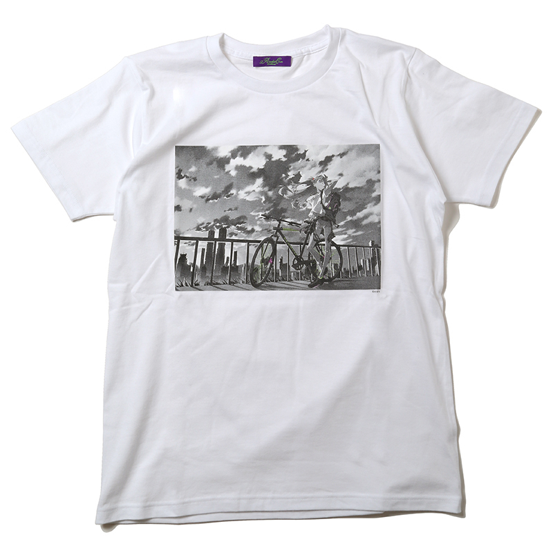 The bicycle ASUKA T-Shirt (ホワイト)