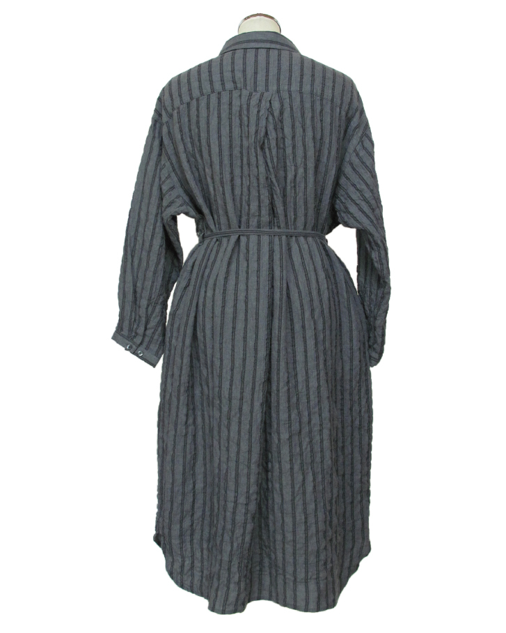 stripe long shrts - 画像4