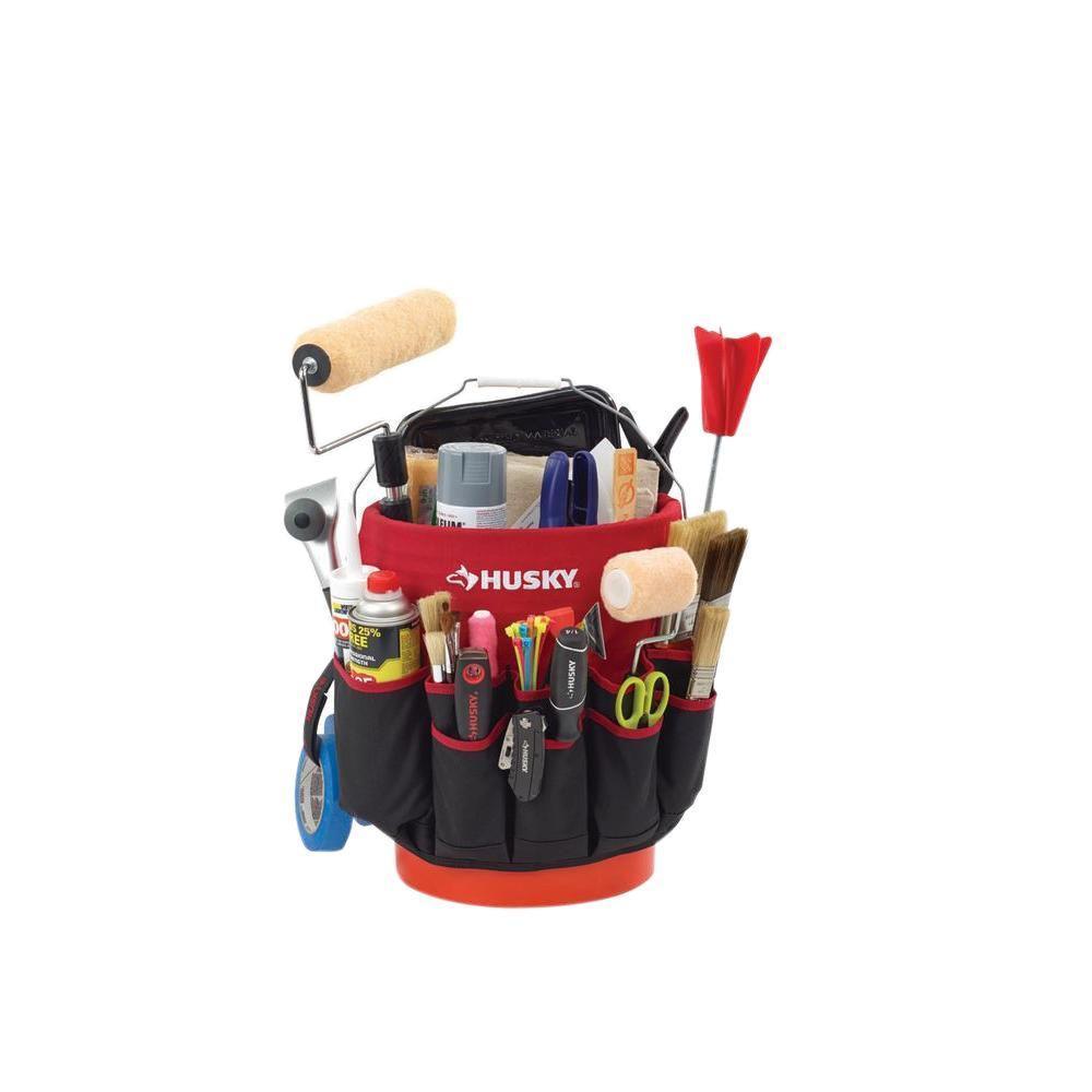 HUSKY(ハスキー) BUCKET JOCKEY 工具入れ ツールボックス バケツ 5ガロン