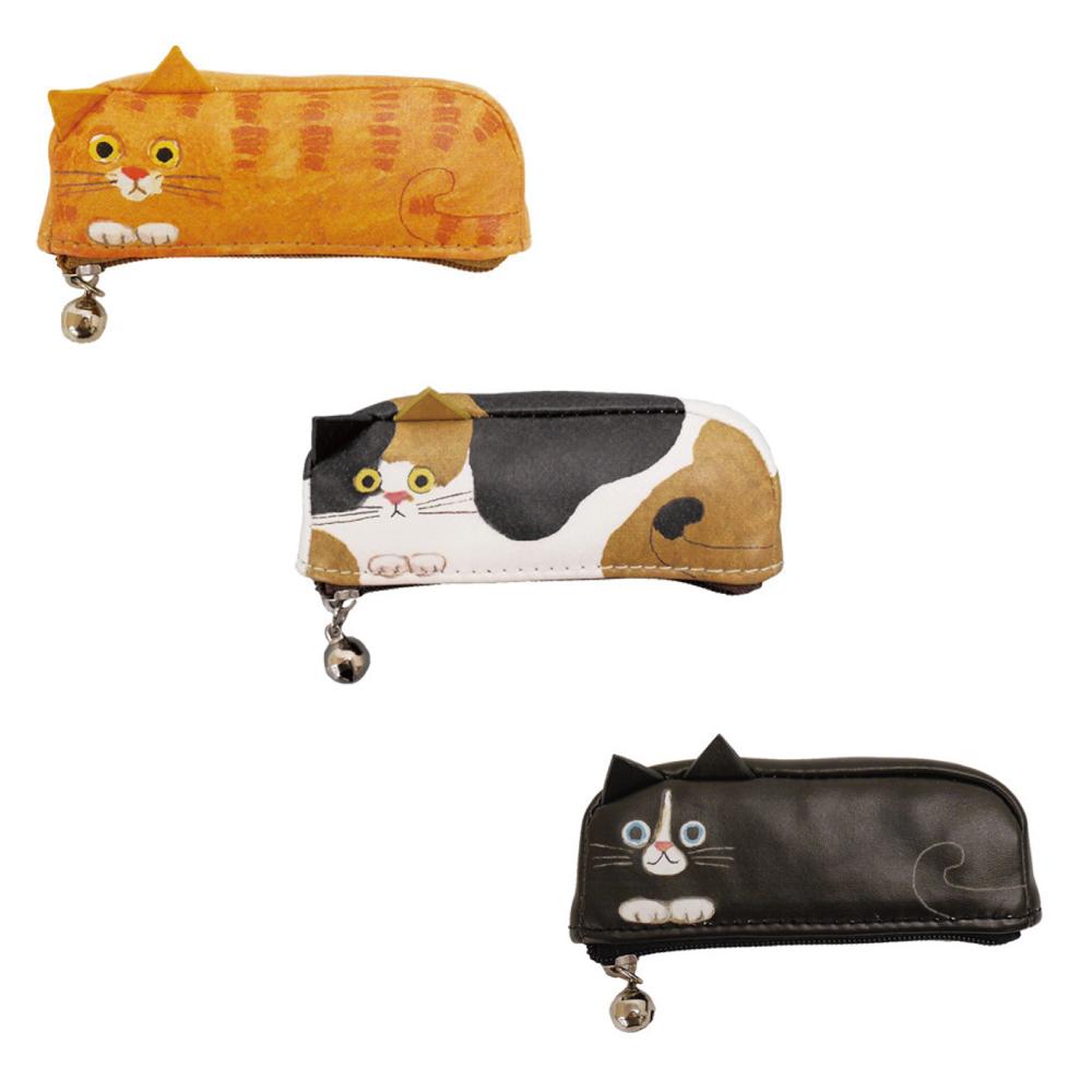 猫ポーチ(エクートミネットよこ型はんこポーチ)全3種類
