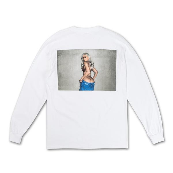 CHEEKS LONG SLEEVE TEE