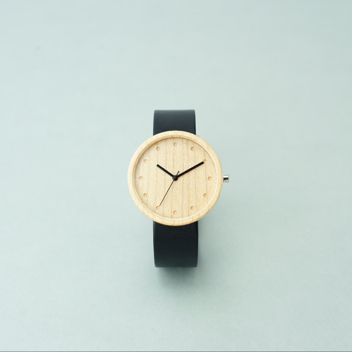 Maple wood - Black - L