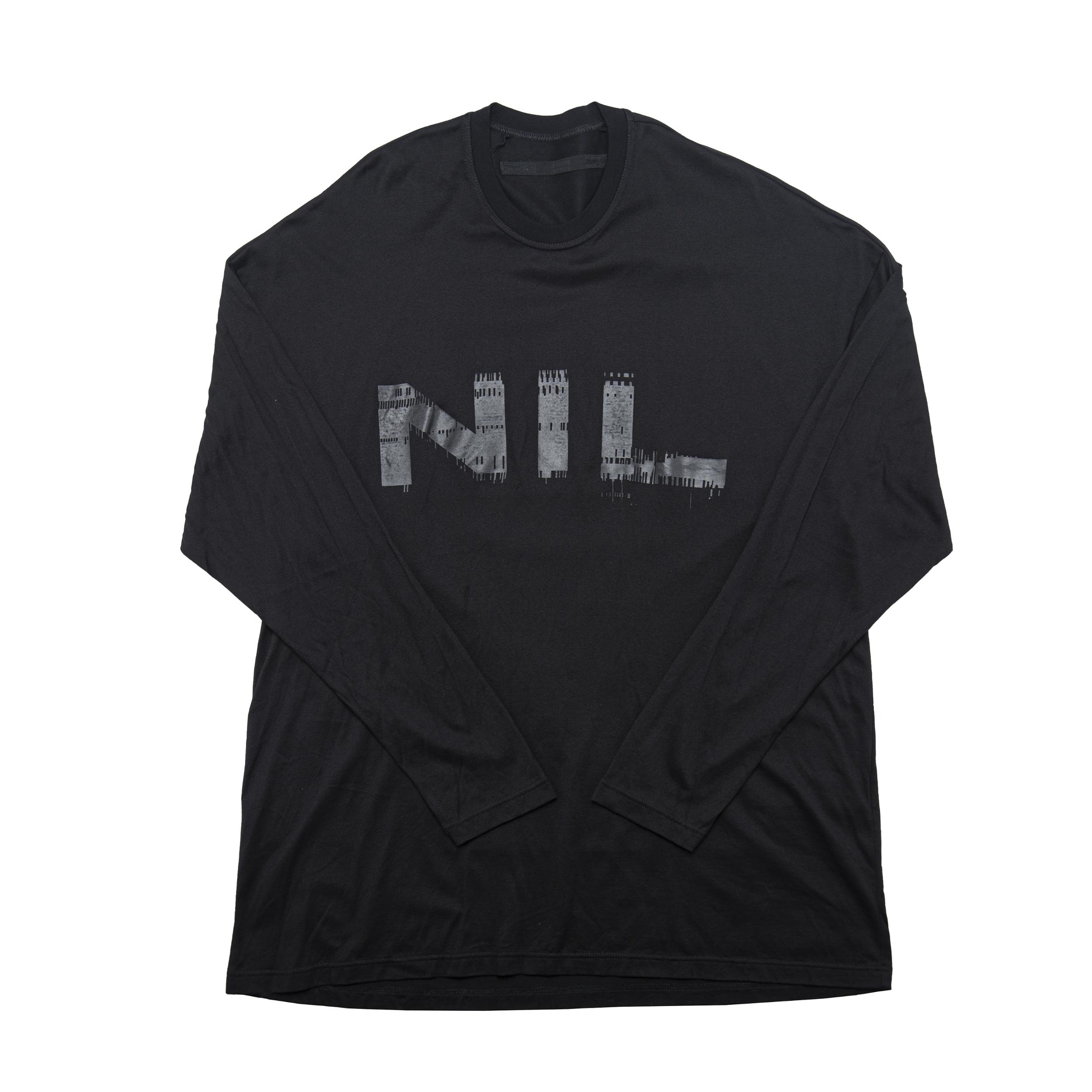 680CPM11-BK×BK / NIL ロングスリーブシャツ