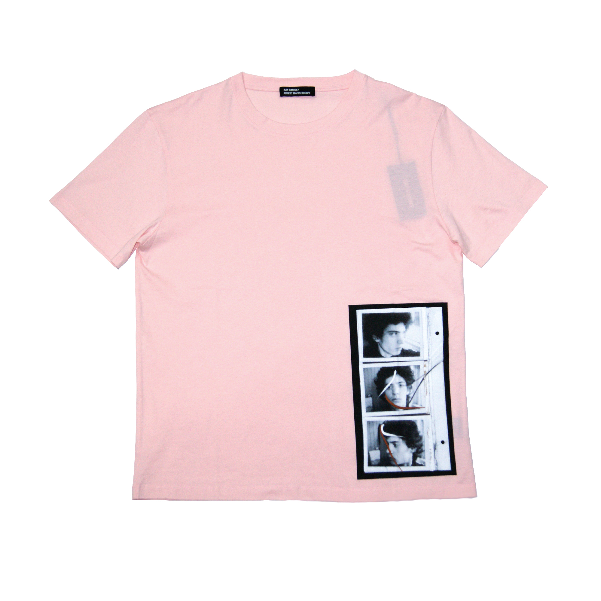 Raf simons robert mapplethorpe t shirts pink clo z for Raf simons robert mapplethorpe shirt