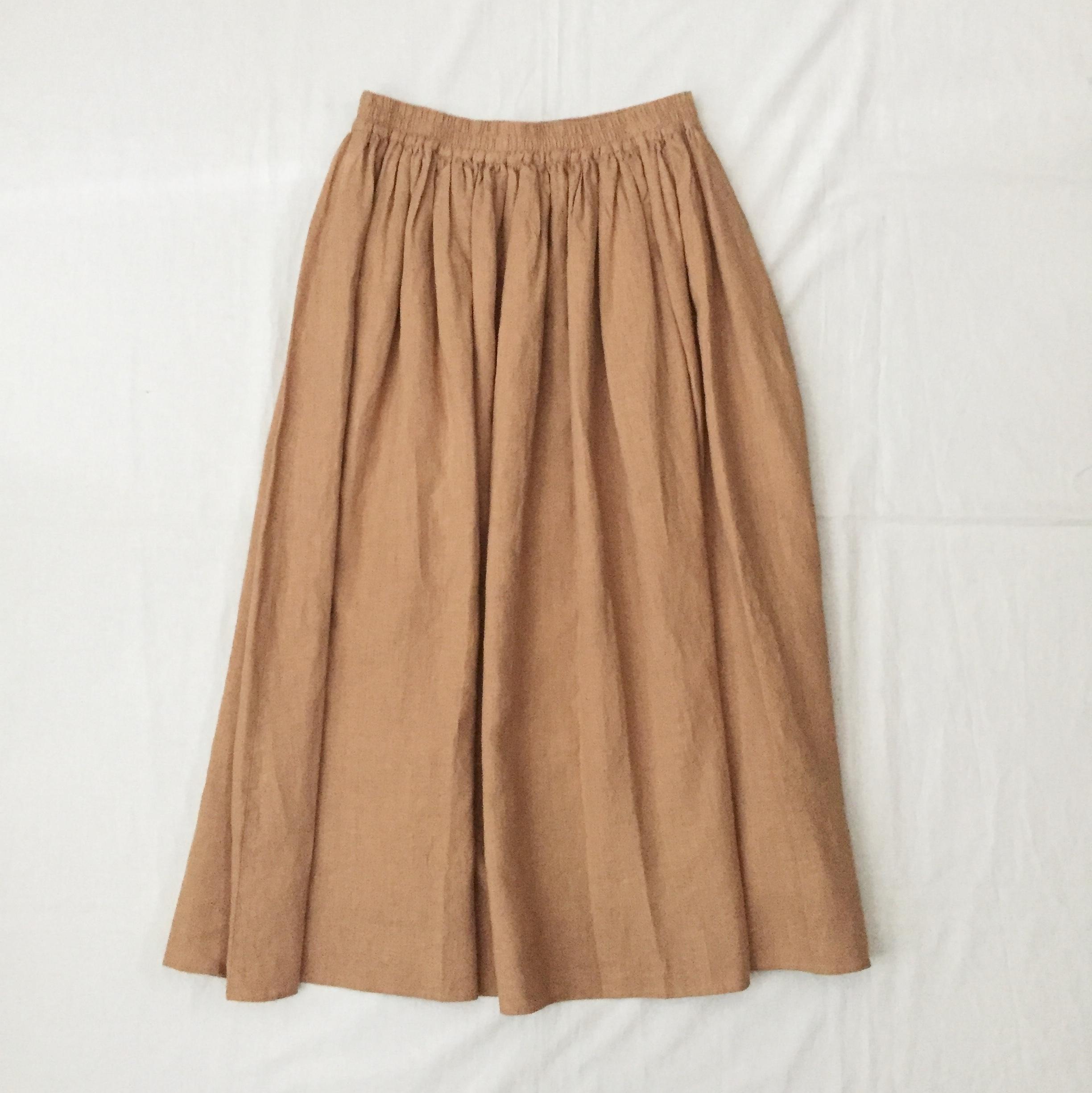 TINA and SUSIE 40sフレンチリネンキャンバススカート