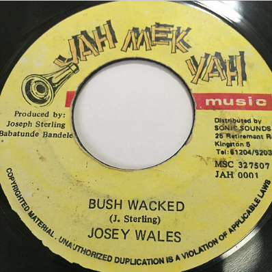 Josy Wales(ジョジーウェールズ) - Bush Wacked【7'】