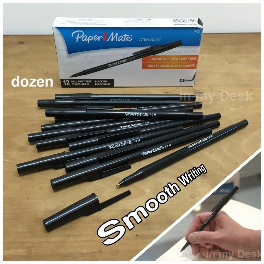 アメリカの 安い ボールペン 1ダース paper mate write bros