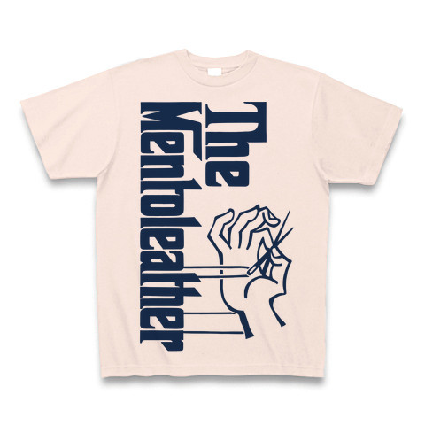 MENTO LEATHER Tシャツ②【ライトピンク】