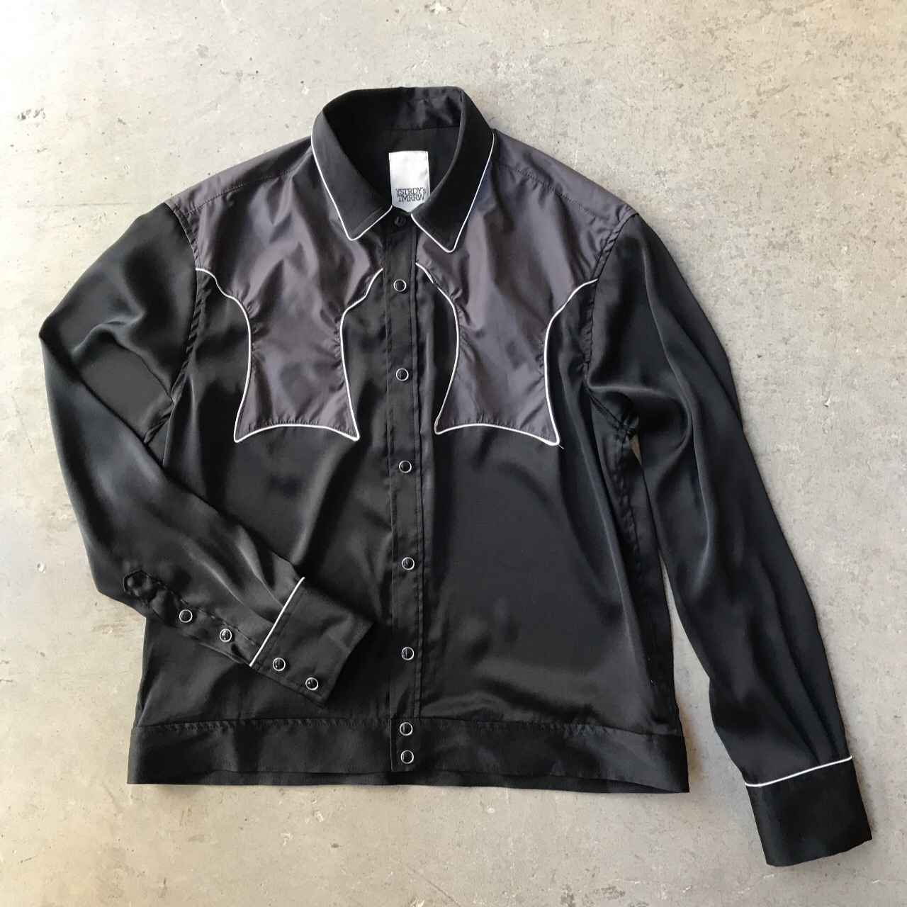 YSTRDY'S TMRRW - SATIN RODEO SHIRT