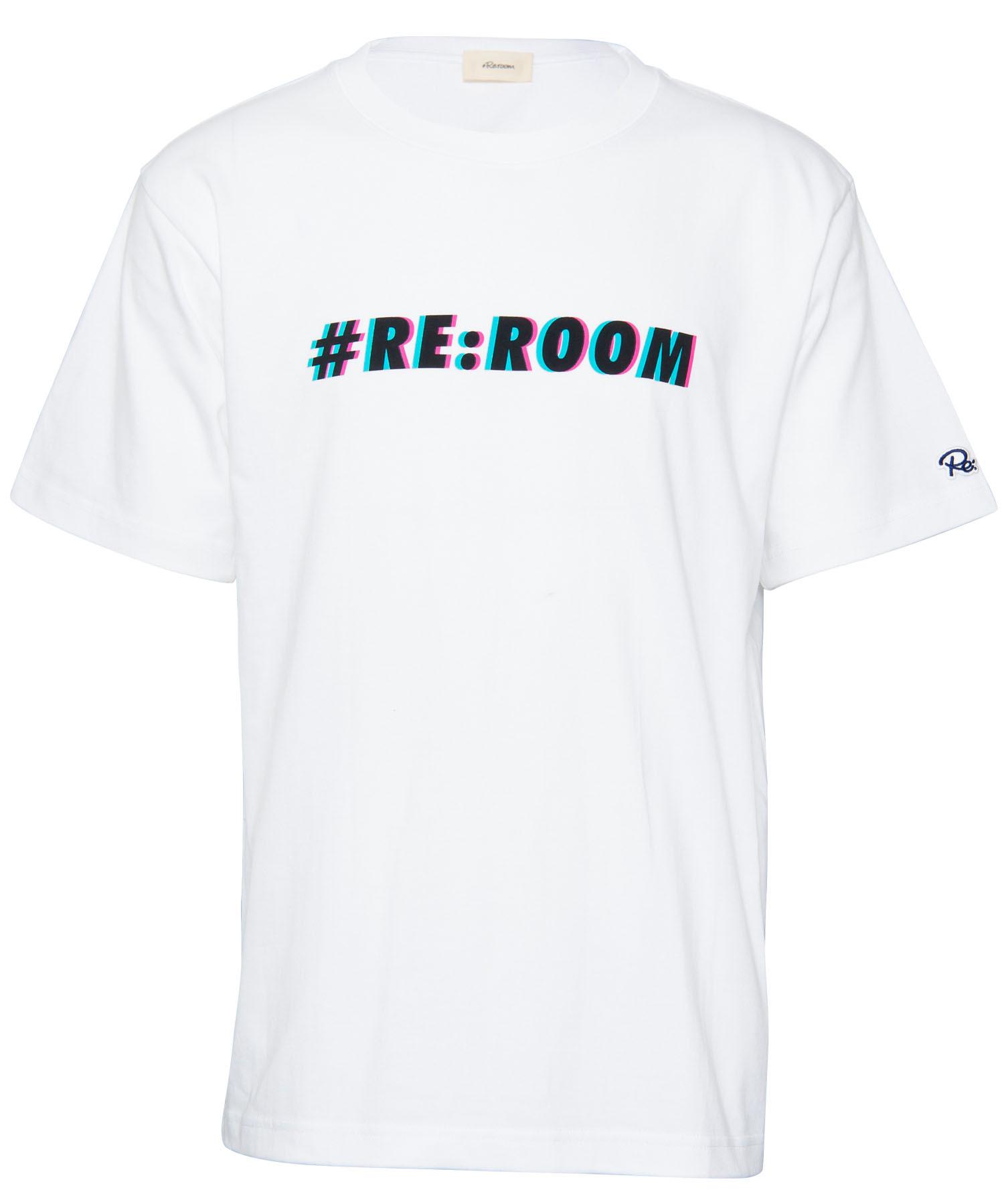 ANAGLYPH LOGO PRINT T-shirt[REC289]
