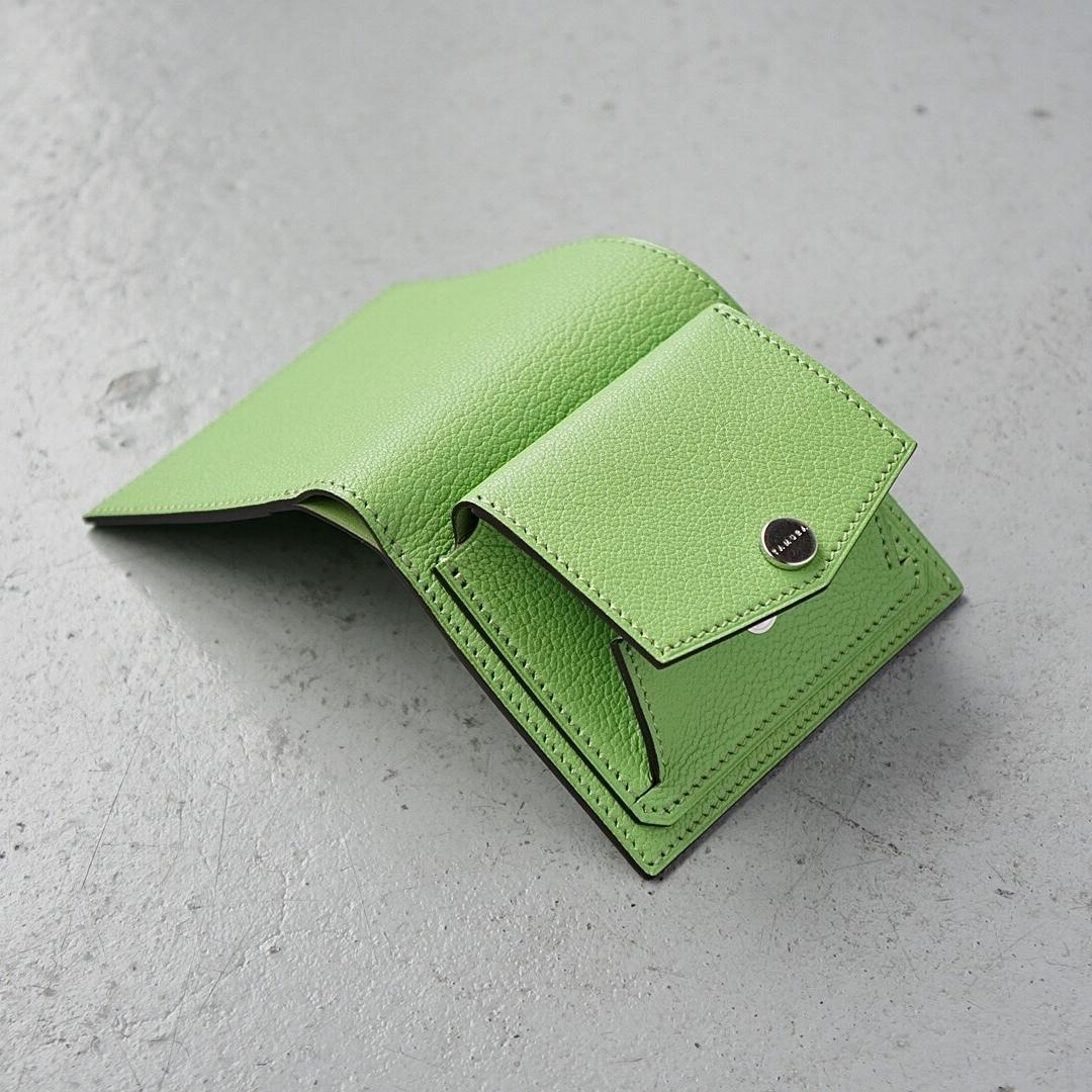 ミニ財布<Shaula / S - type> ピスタチオ