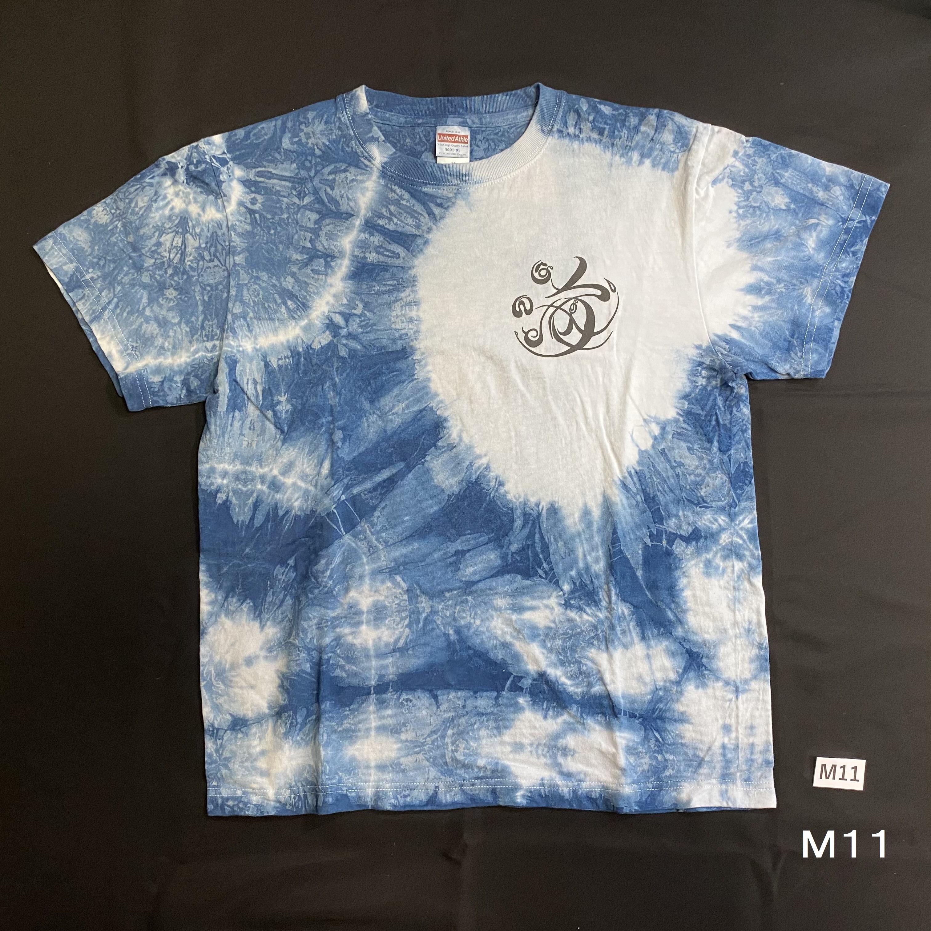 こころMoji×藍染Tシャツ(M11)