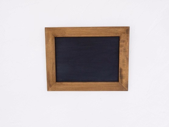 額付き黒板・メッセージボード(ブラウン)[送料無料]