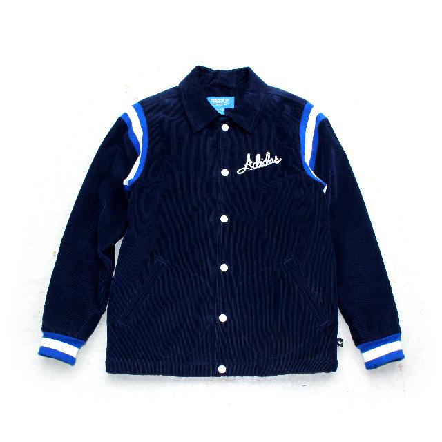 USED / adidas originals Corduroy Coach Jacket
