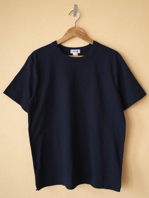 BETTER ベター MAHABAR COTTON CREW NECK S/S T-SHIRT