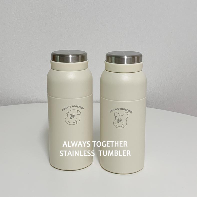 ゴンチル ステンレス ボトルタンブラー 350ml (全2種)