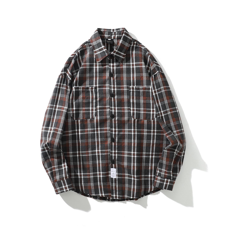 【UNISEX】フランネルシャツ