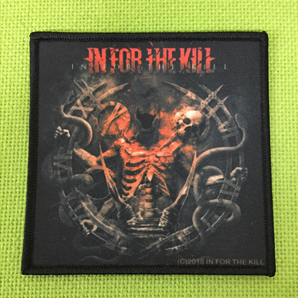 "IN FOR THE KILL ""In For The Kill"" プリントパッチ"