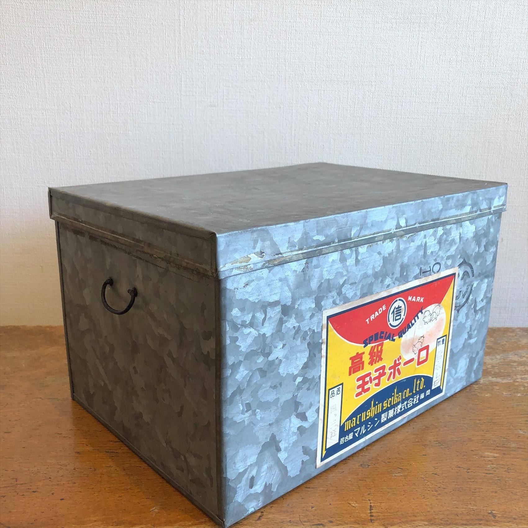 古いトタン缶