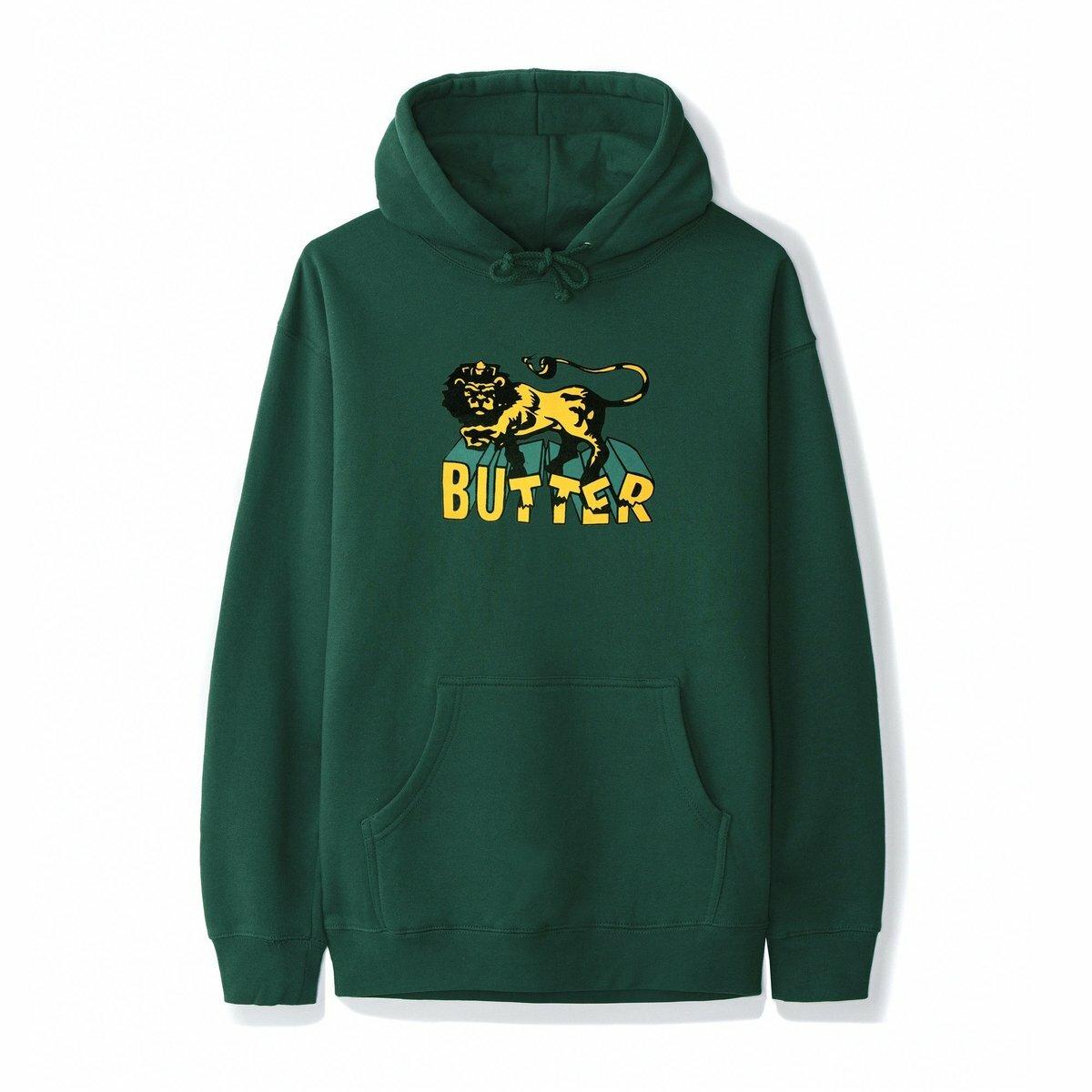 BUTTER GOODS 【JAH PULLOVER, GREEN】