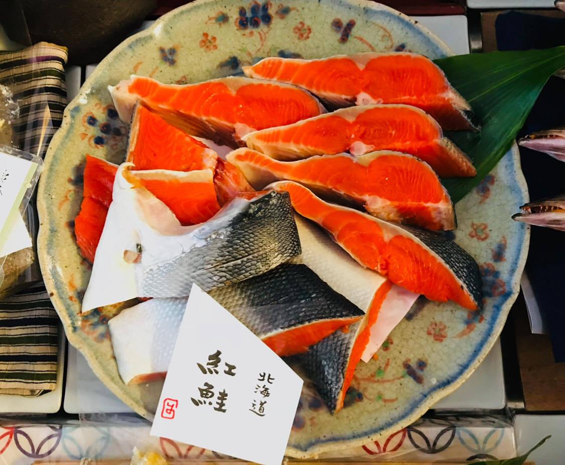 (贈答用)北海道産の紅鮭 五切れセット