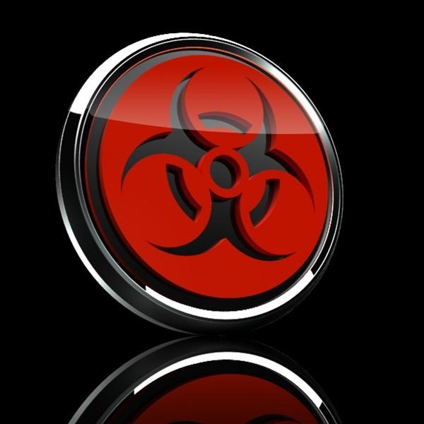 ゴーバッジ(3D)(LC0017 - 3D HAZARD RED) - 画像2
