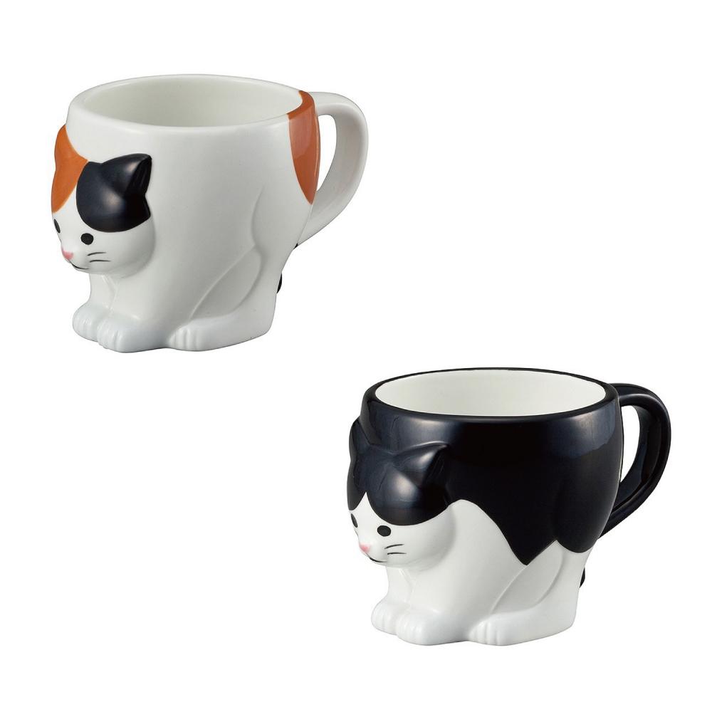猫マグカップ(ちょこんと猫マグ)全2種類