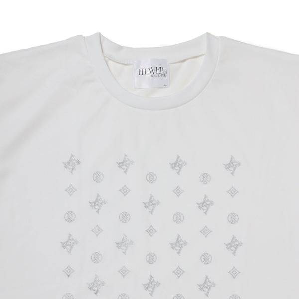 【FLOWER by RADIO EVA 018】EVA Monogram T-Shirt  WHITE / EVANGELION エヴァンゲリオン