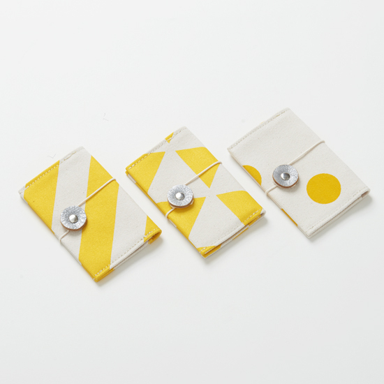 business card case/dandelion/stripe, scale, dot カードケース / 蒲公英 x 縞・鱗・水玉