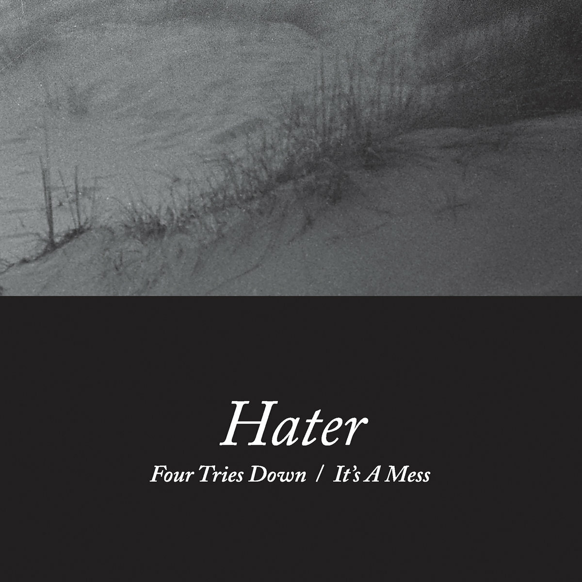 Hater / Four Tries Down / It's A Mess(7inch)