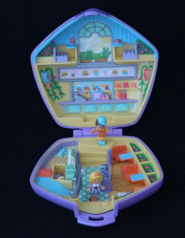 ポーリーポケット ファーストフード店 1992年 ほぼ完品