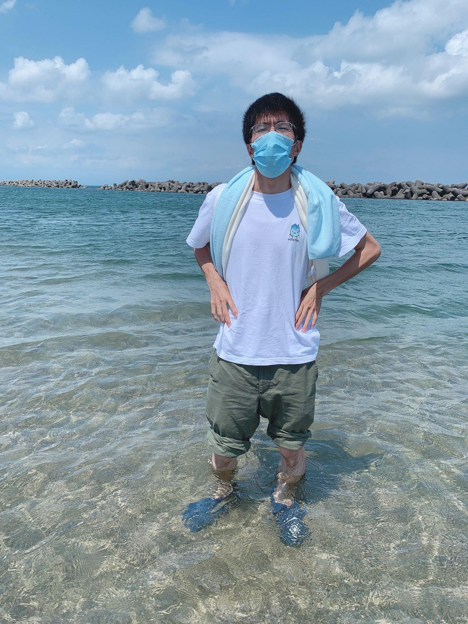 ミラたん Tシャツ 【魚津市公認】